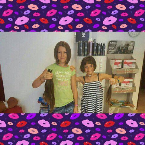 Daniela y Abril Tupelu